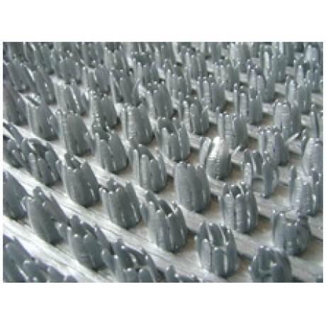Щетинистое Покрытие Серый металлик 128