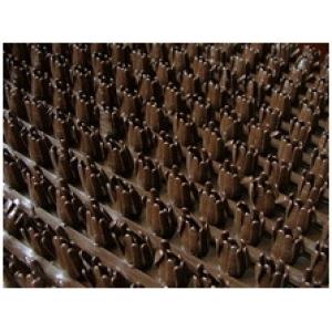 Щетинистое Покрытие Тёмный шоколад 137